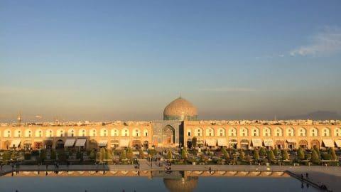 Naqsh-e Jahan Square Isfahan Iran