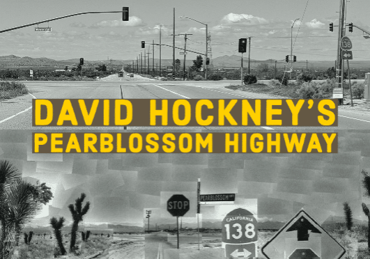 David Hockney Pearblossom Highway